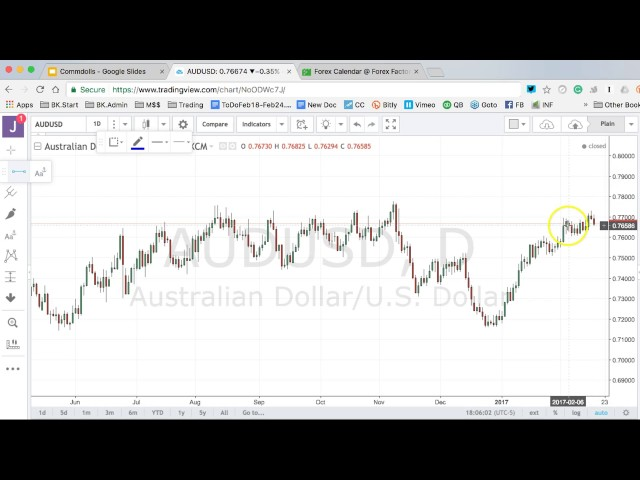Boris and Kathy Forex Weekly – 20/2/2017 – Commodity Dollars